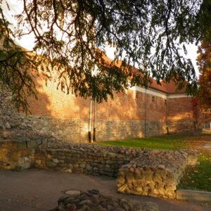 XIV-wieczny Nowy Radom miał trzy bramy: główną Krakowską na południe, Lubelską na wschód, Piotrkowską na zachód; na północ, ku Mazowszu, bramy nie było