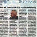 Wywiad z Radomirem Jasińskim, profesorem Politechniki Krakowskiej, Echo Dnia